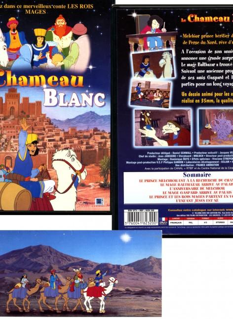 la jaquette complète du DVD + une carte de voeux du studio 352